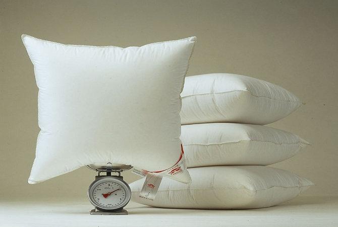 какой наполнитель выбрать для подушки