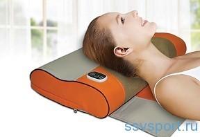 Массажная подушка для шеи и плеч - преимущества