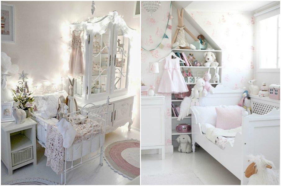 Кроватки в стиле прованс для самых маленьких