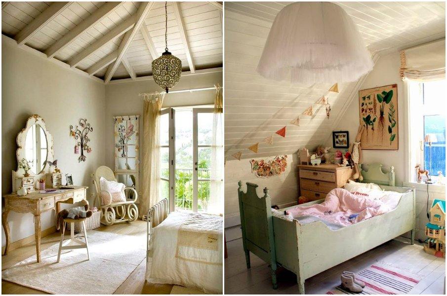 Варианты оформления детской комнаты в стиле прованс