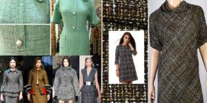 Применение материала рогожка в одежде