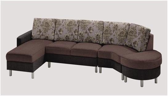 Пример дивана Жаккард