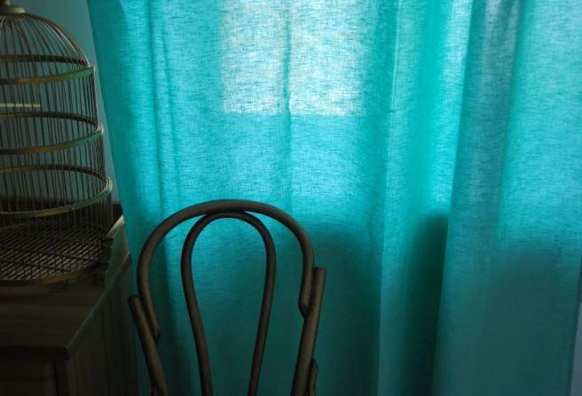 Шторы изо льна в интерьере с фото