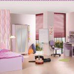 Детская комната в персиковых тонах