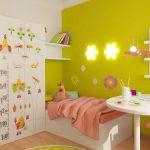 Яркая комната для девочки 3-5 лет