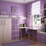 Компактная мебель для маленькой детской комнаты