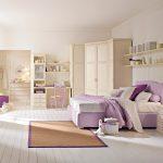 Спальня для девочки в стиле модерн