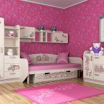 Спальня для девочки - тематическое оформление