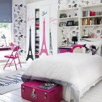 Тематическое оформление спальни для девочки
