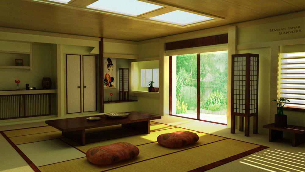 Японский стиль в интерьере - описание, идеи с фото