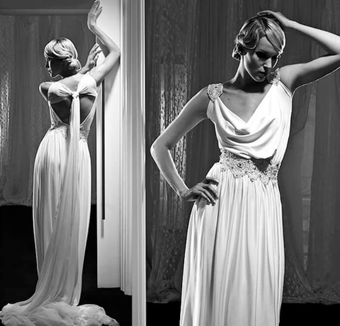 Платье в стиле вамп