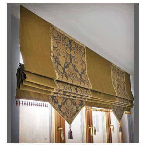 Римские шторы удобны в установке