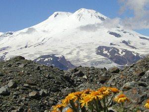 Гора Эльбрус - тестирование утеплителя Шелтер