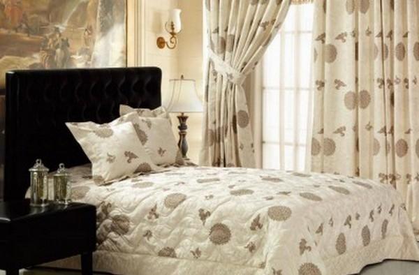 покрывала и шторы для спальни
