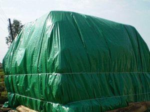 Зеленый большой тент из тарпаулина Indiana, 3х4 м
