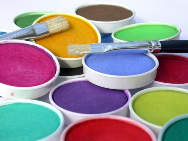 Применение акриловых красок