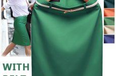 Как сшить юбку без пояса