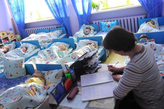 Тихий час в дошкольном учреждении