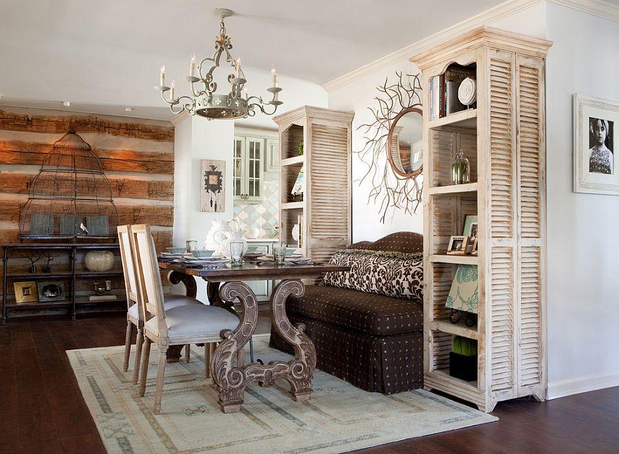 Чтобы комната шебби-шик не казалась складом из старых вещей, нужно очень тщательно подбирать все предметы декора