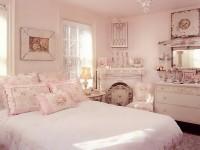 розовый интьерьер шебби шик