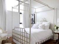 еще одна кровать с балдахином в стиле классического шебби