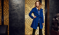 Синее пальто
