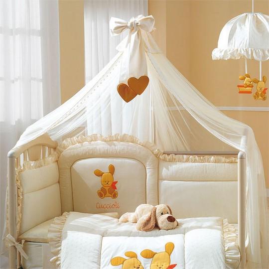 Как крепить балдахин на кроватку