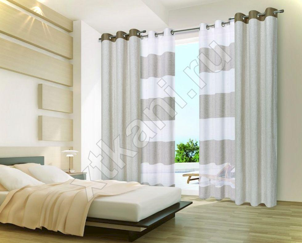 ткань на шторы рогожка