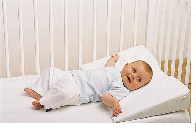 наклонная подушка