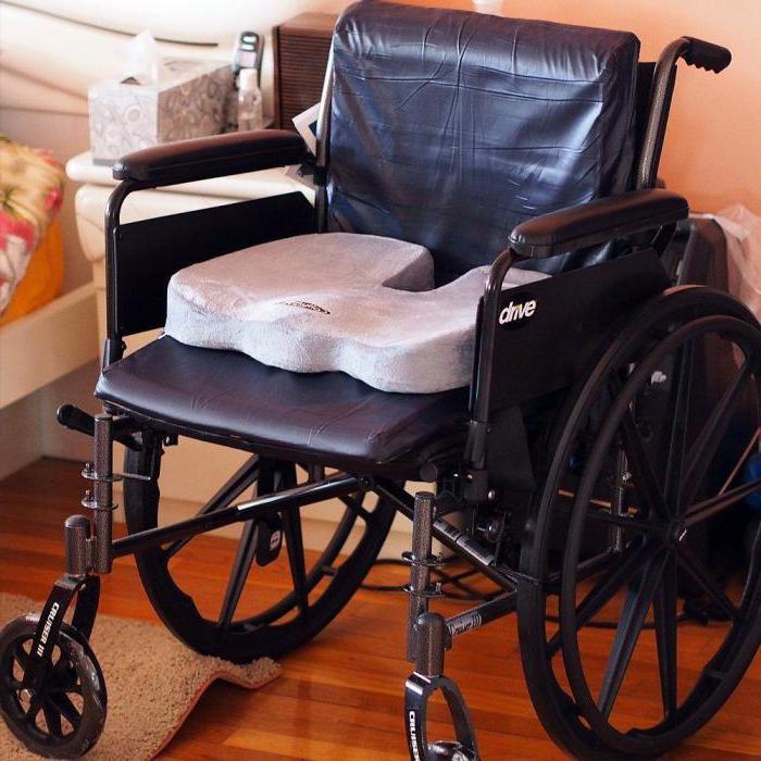 Подушка для сиденья в инвалидной коляске: