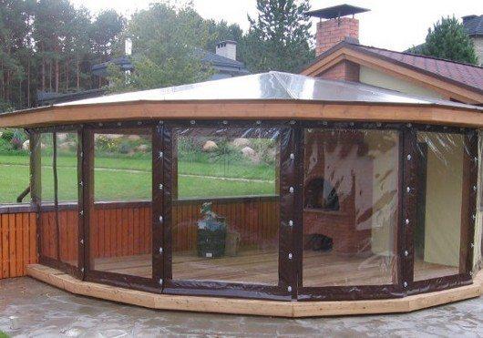 Защитные прозрачные шторы