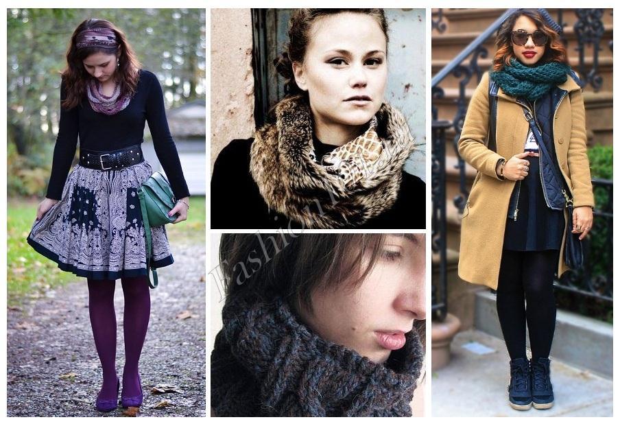 шарф - снуд