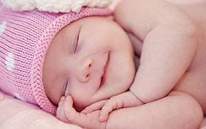 Стандартные размеры в кроватку для новорожденных