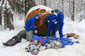 Холлофайбер для космонавтов