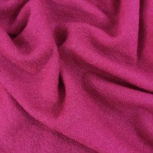 Ткань лоден цвета фуксия
