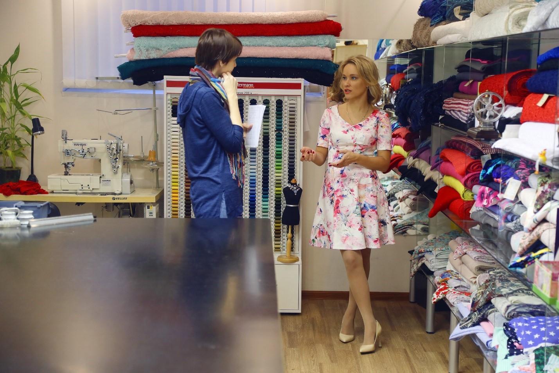 Подбор ткани зависит от назначения наряда