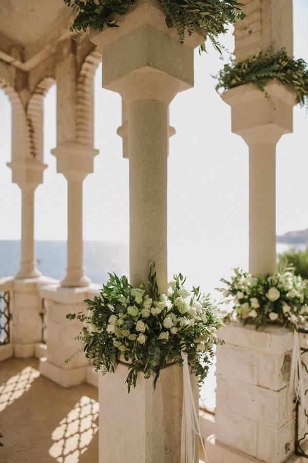 свадебное оформление места бракосочетания