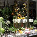 оформление витрины цветочного магазина москва