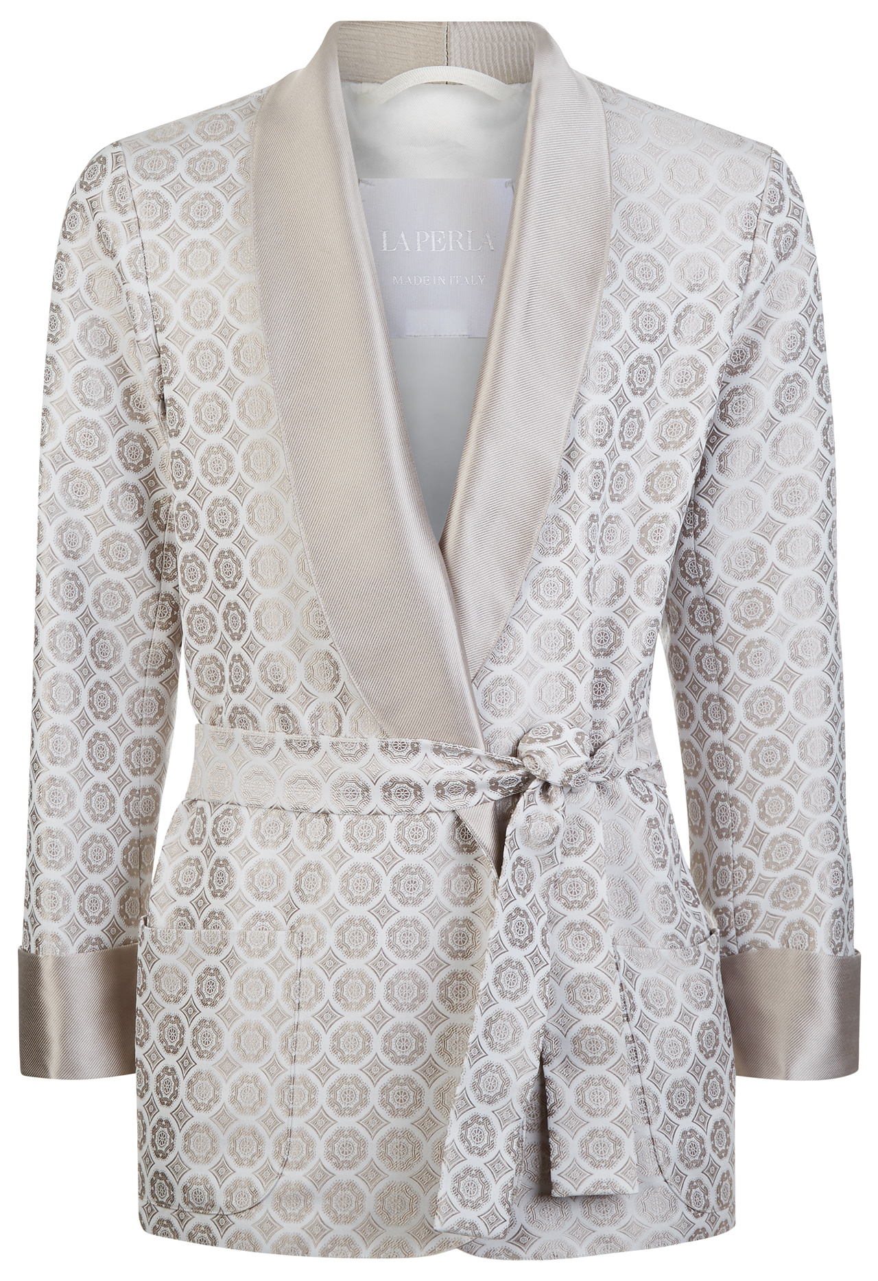 Мужская одежда для дома, smoking jacket итальянского бренда La Perla