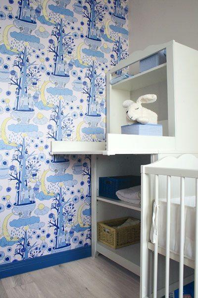 Тканевая отделка в детской комнате