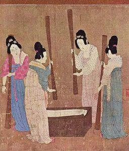 шелк в Древнем Китае