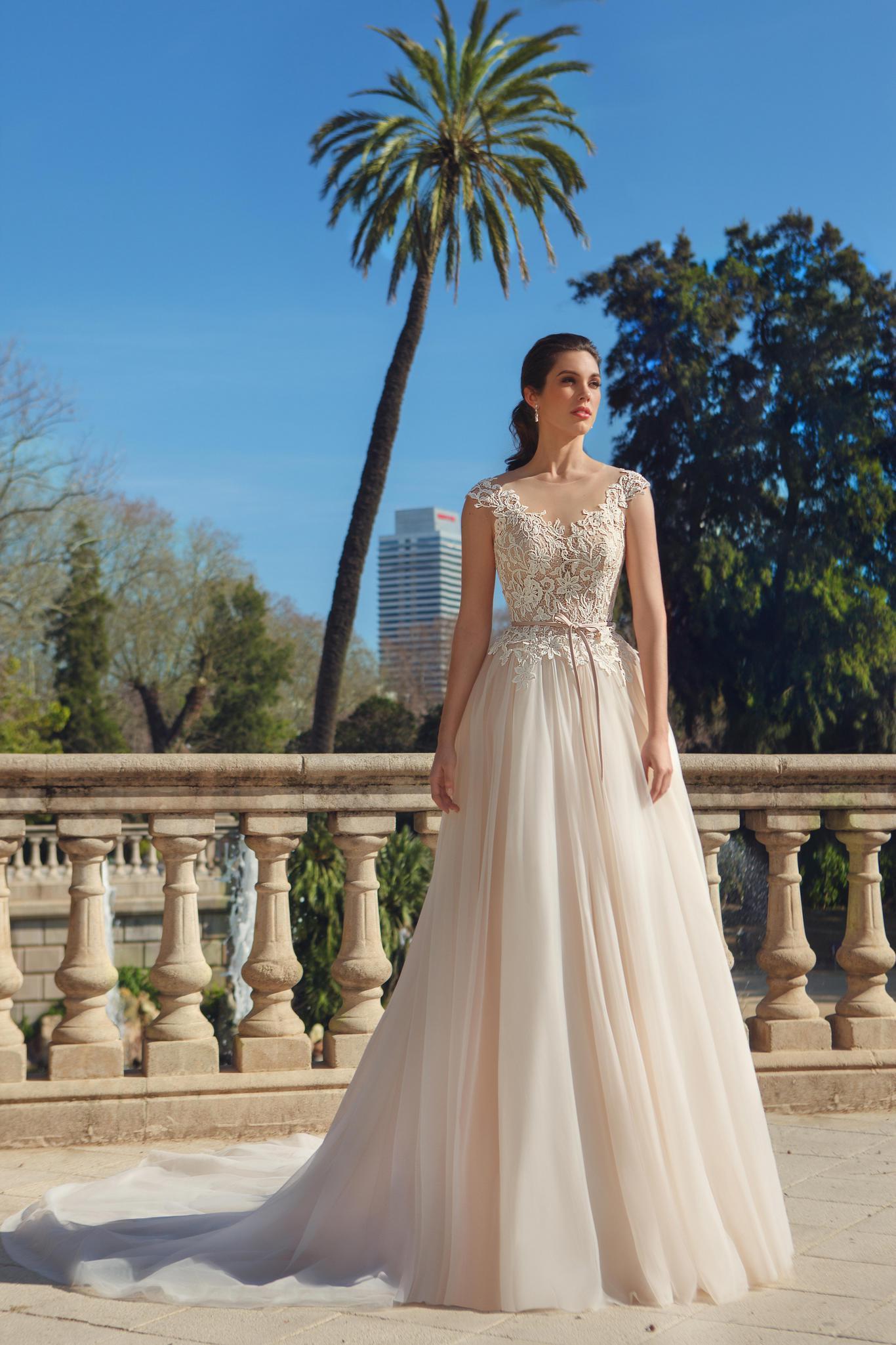Силуэт свадебного платья - принцесса