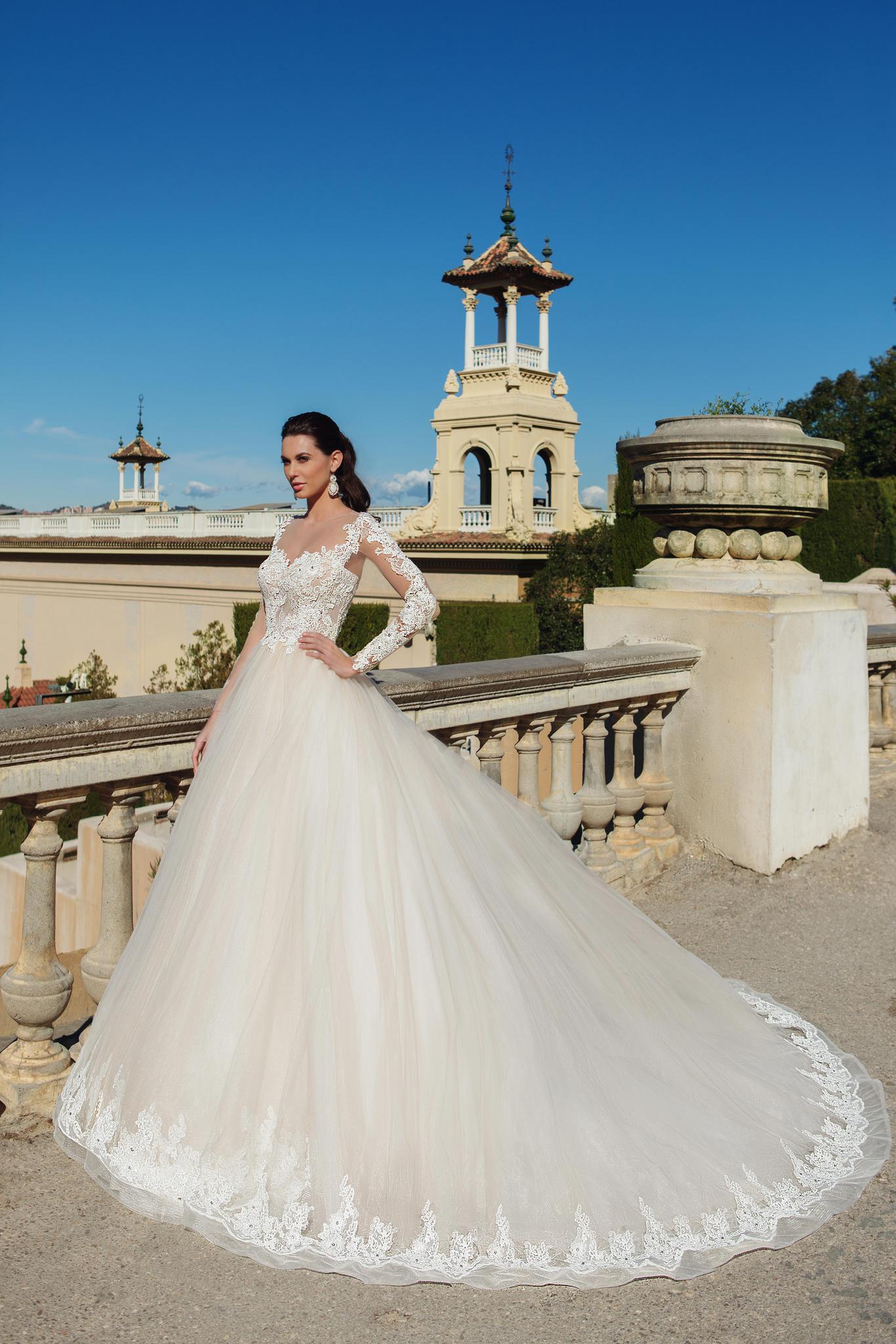 очаровательное свадебное платье - принцесса
