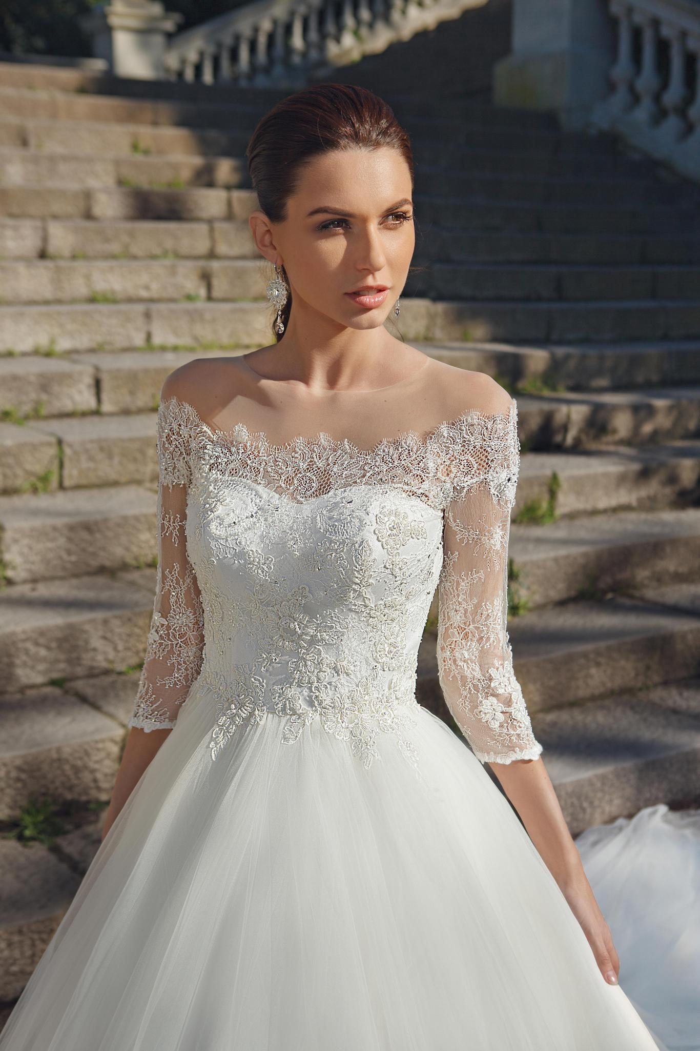 свадебное платье принцесса фото 9