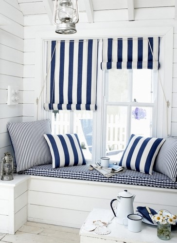 Они станут хорошим аксессуаром для балкона, и прекрасным укрытием от солнца