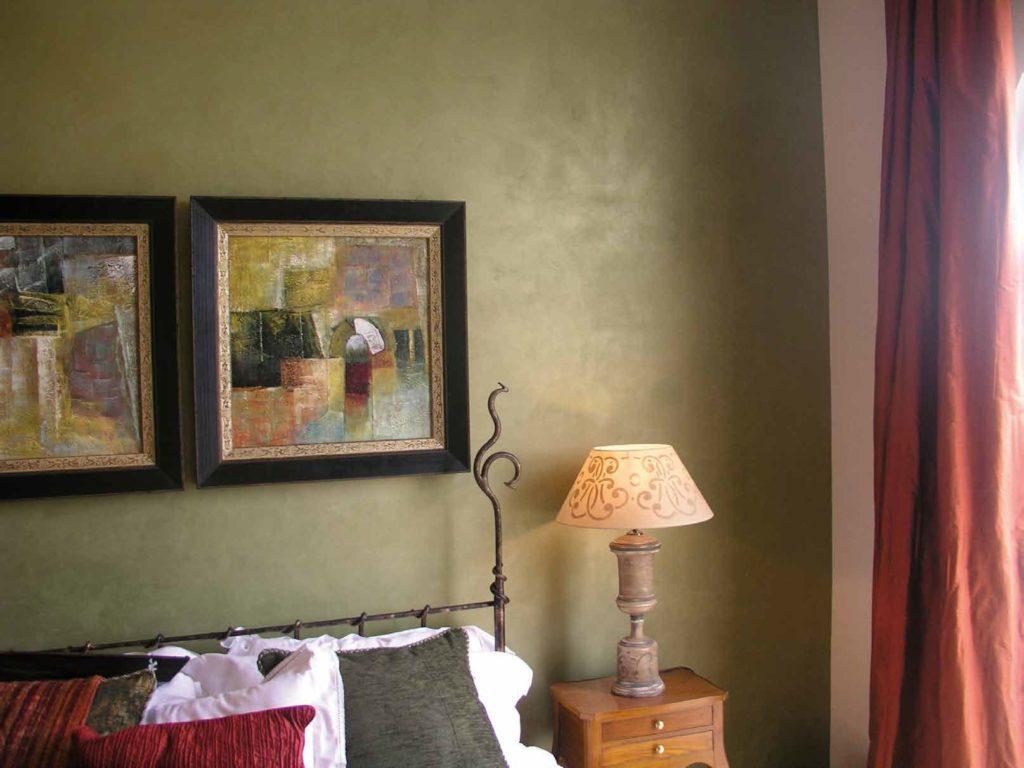 Краска для стен с эффектом шелка фото