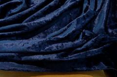 Бархат стрейч (мокрый  эффект) 04-12/208  шир.135 см 92%полиамид,9%эластан 1700 р/м • <a style=