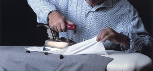 Как правильно погладить пиджак