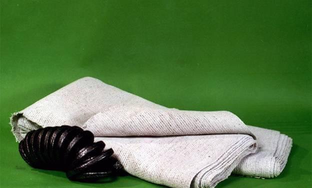 Рулон асбестовой ткани