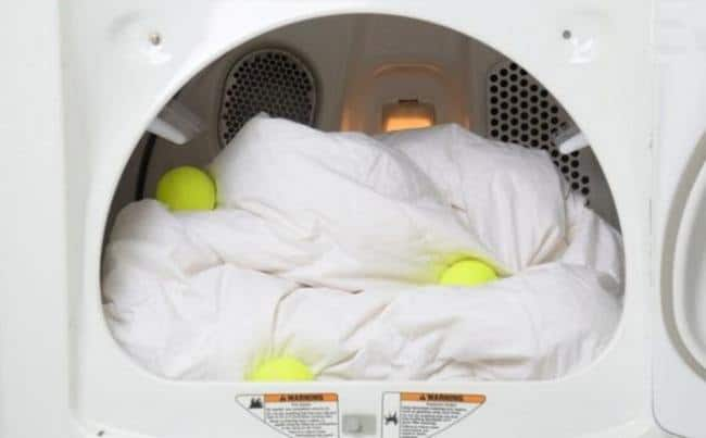 Одеяло с теннисными мячиками